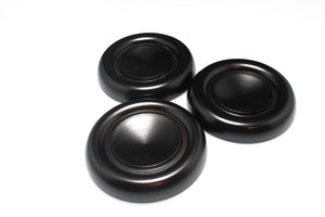 black grand piano caster cups royal wood 837e