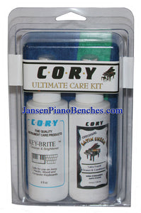 Cory Ultimate Piano Care Kit for Satin Finish Pianos
