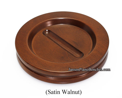 walnut grand piano caster cup jansen 5.5 inch