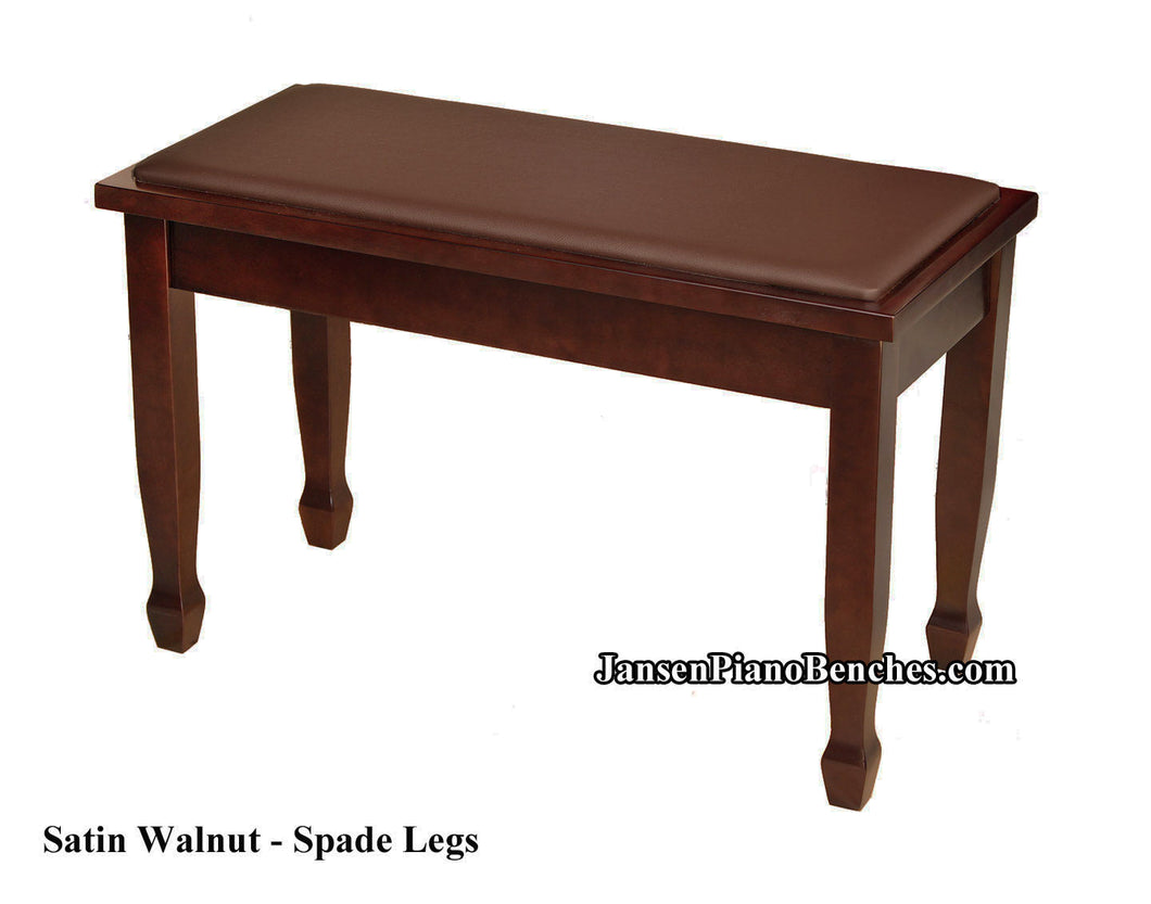 Walnut Yamaha Piano Bench - Chipped Leg
