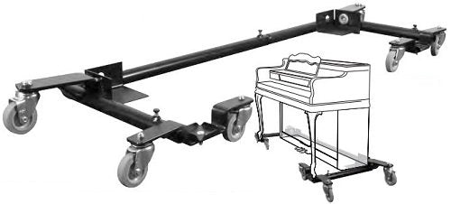 jansen spinet piano dolly model 6545