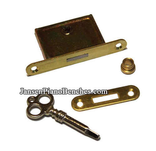 Upright Piano Lock Set with Key