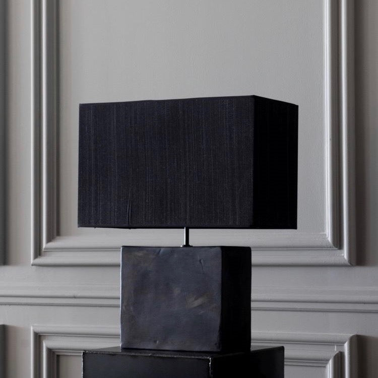 Black Reduced Table Lamp