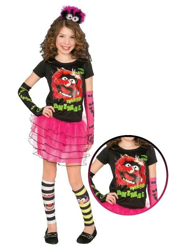 Disney The Muppets T-Shirt Tutu Skirt Arm and Leg Warmer Size STD Girls Costume