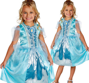 Licensed Disney Princess Cinderella Sparkle Girls Costume