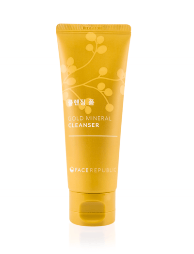 Face Republic Gold Mineral Cleanser - Aquareveal