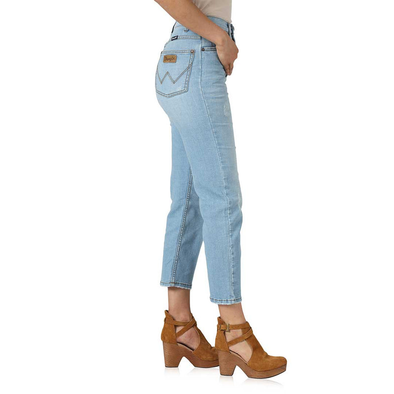 Wrangler Women's Retro High Rise Boyfriend Jeans