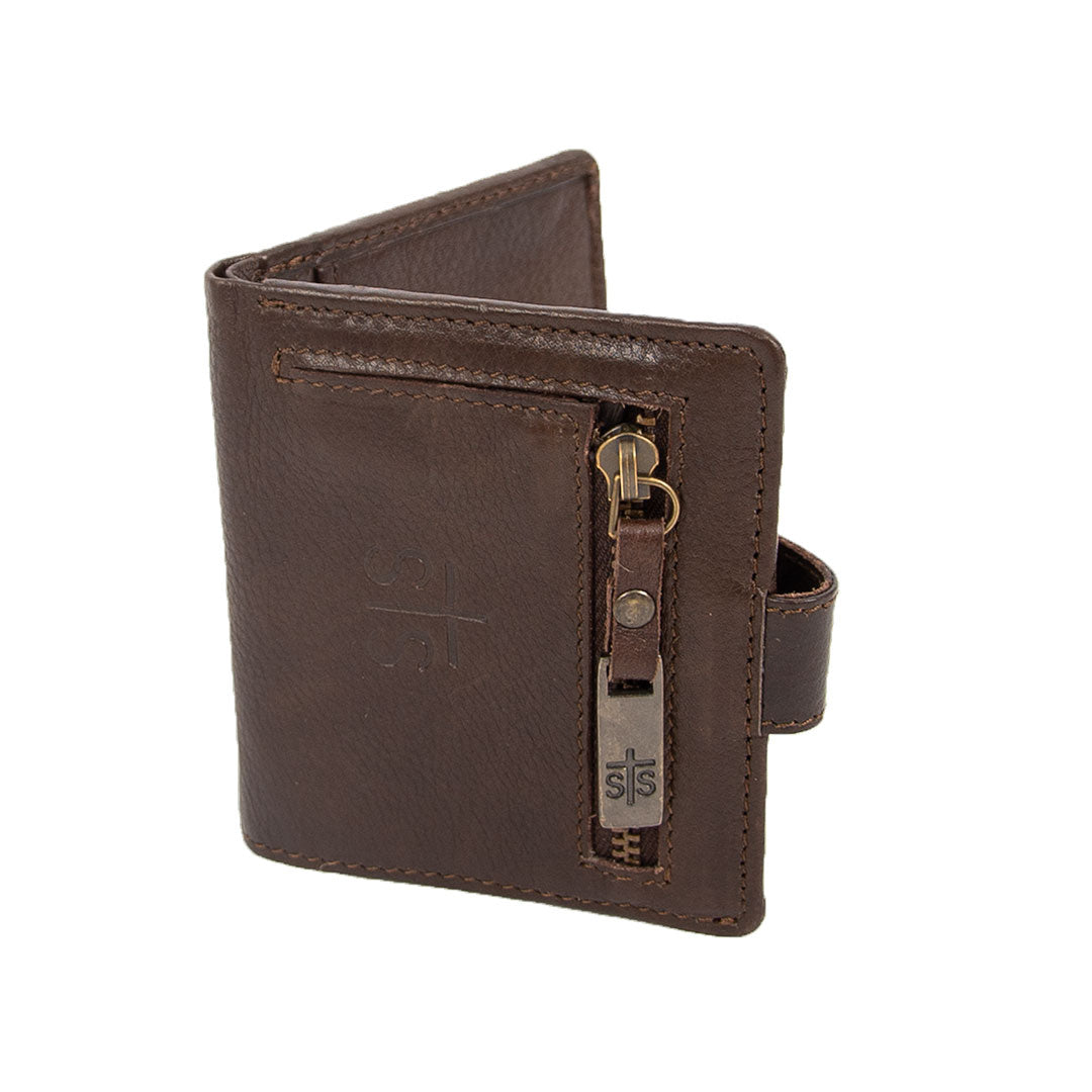 STS Ranchwear Chaquita Brown Wallet