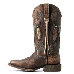 Ariat Tallahassee Naturally Distressed Cowgirl Boot