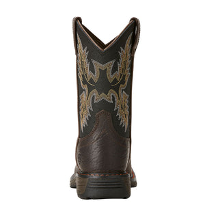 Ariat Bruin Brown WorkHog Kids Boot