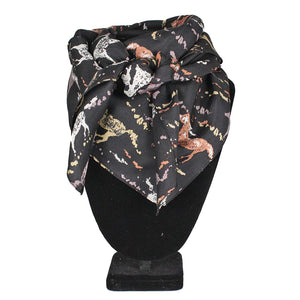 Austin Accent Abstract Horse Wild Rag