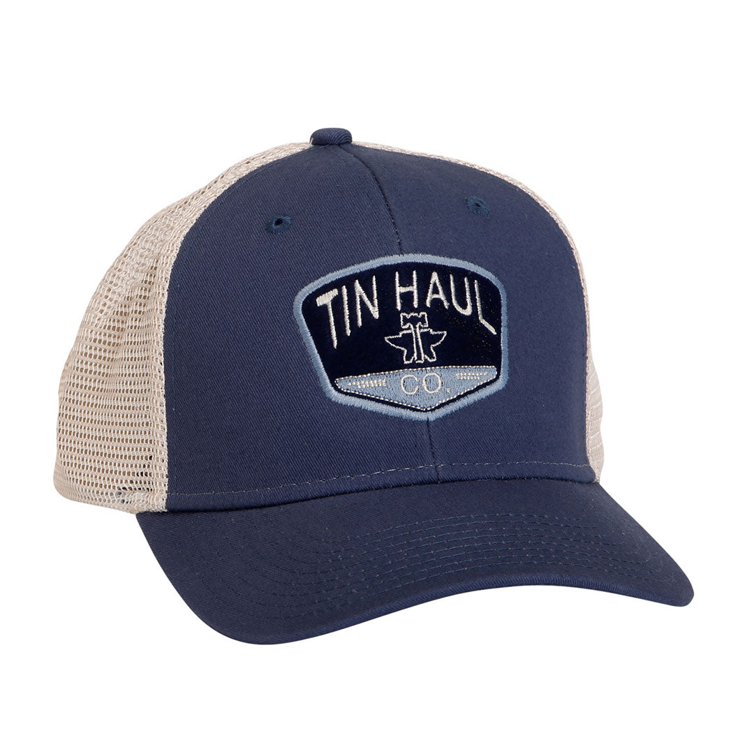 Tin Haul Logo Blue Cap
