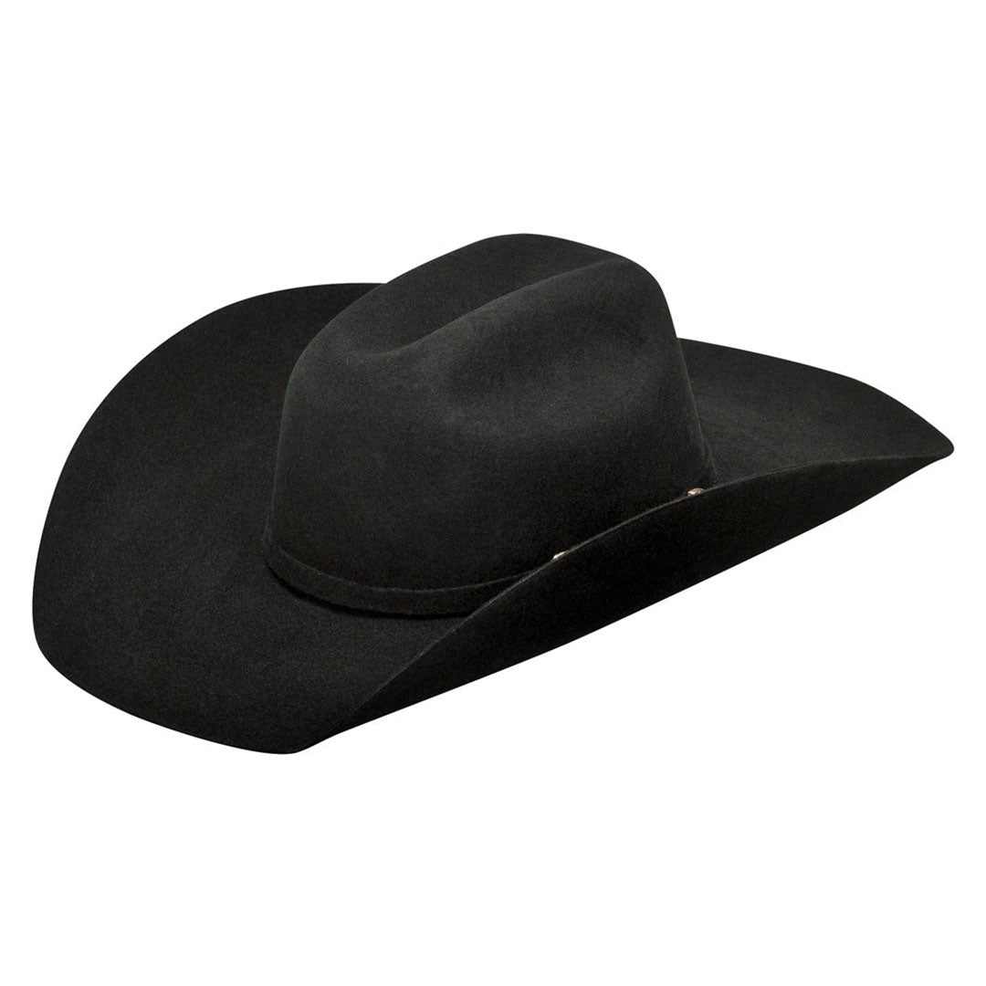 Ariat Youth Black Felt Cowboy Hat