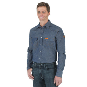 Wrangler Flame Resistant Denim Shirt