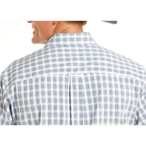 Tuf Cooper Competition Blue Plaid Shirt