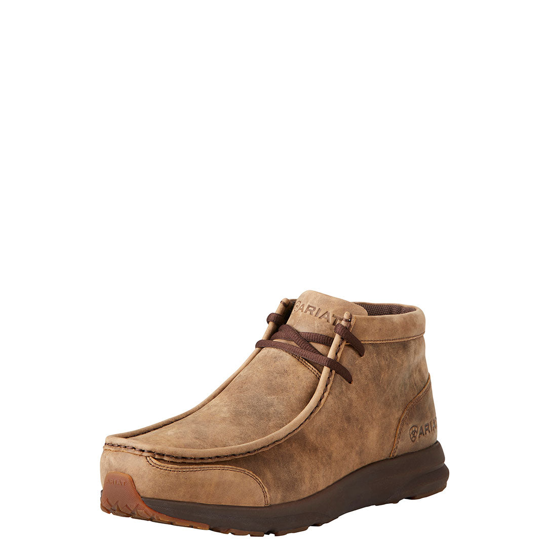 Ariat Spitfire Brown Bomber Mens Casual Shoe