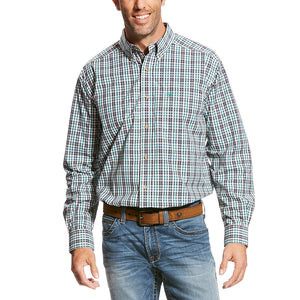 Ariat Valencia Teal & Black Plaid Shirt