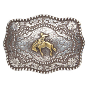 AndWest Bronc Buster Antique Buckle