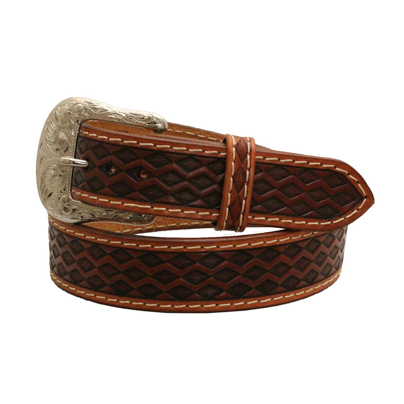 Ranger Belt Co. Black & Brown Diamond Back Belt