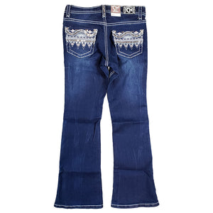 Rodeo Girl Sequin Bling Jeans