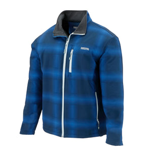 Resistol Blue Cadet Softshell Solid Mens Jacket