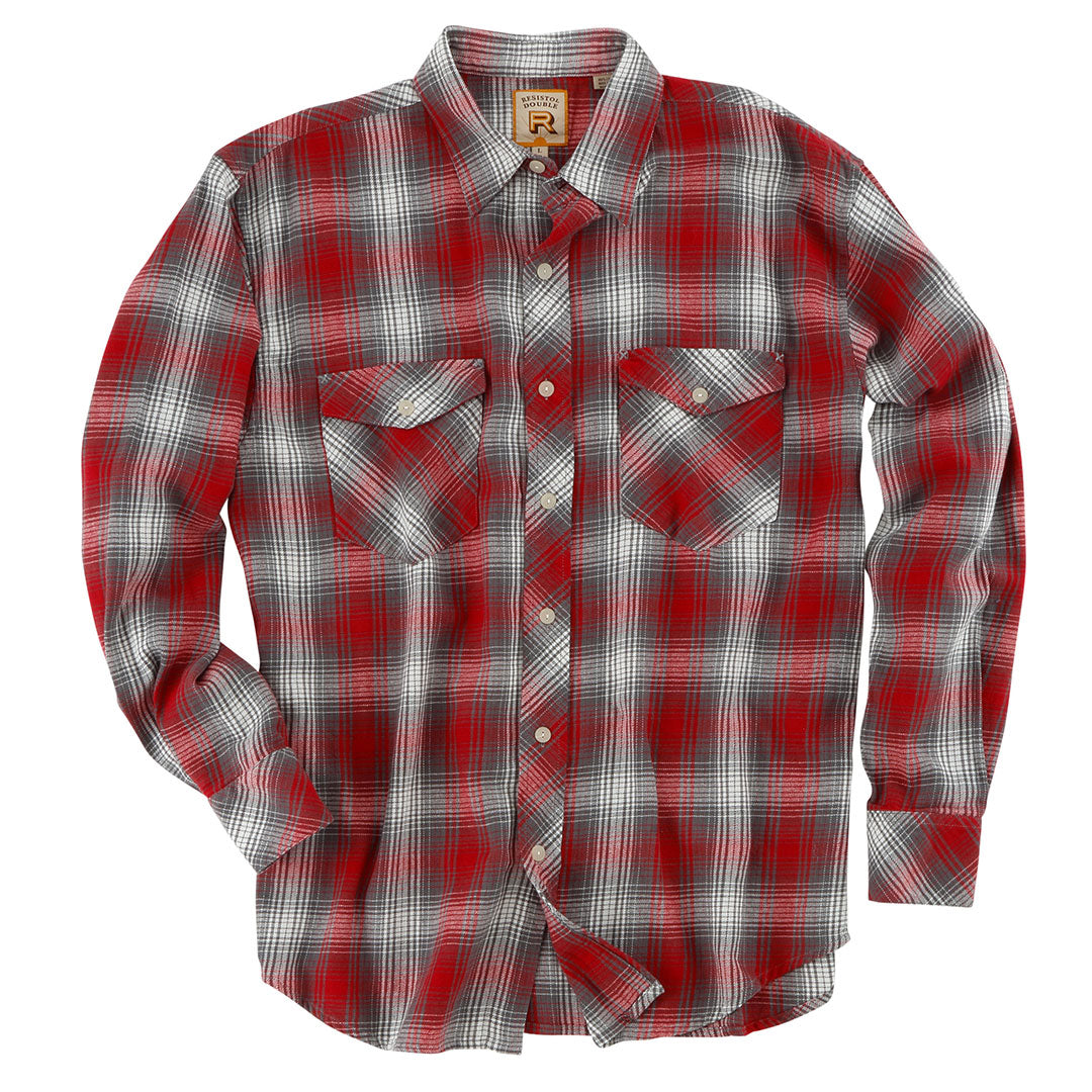 Double R Wigeon Red Plaid Shirt