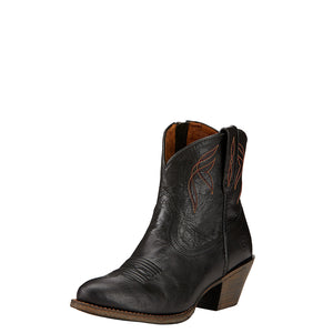 Ariat Darlin Side Zip Shorty Cowgirl Boot