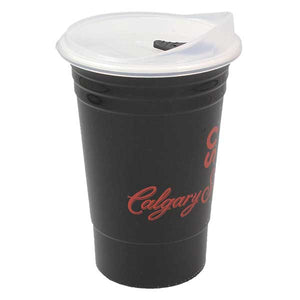 Solo-Style 16 oz. Calgary Stampede Plastic Cup with Lid