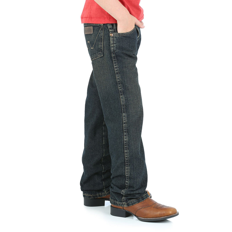 Wrangler Boy's Retro Regular Fit Straight Leg Jeans