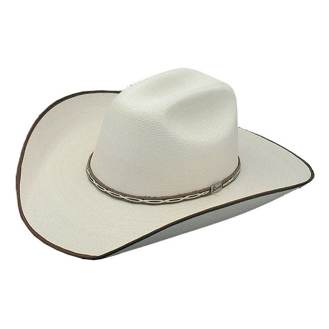 Atwood Hereford Brown Bound Palm Leaf Hat  551eeb5fd116