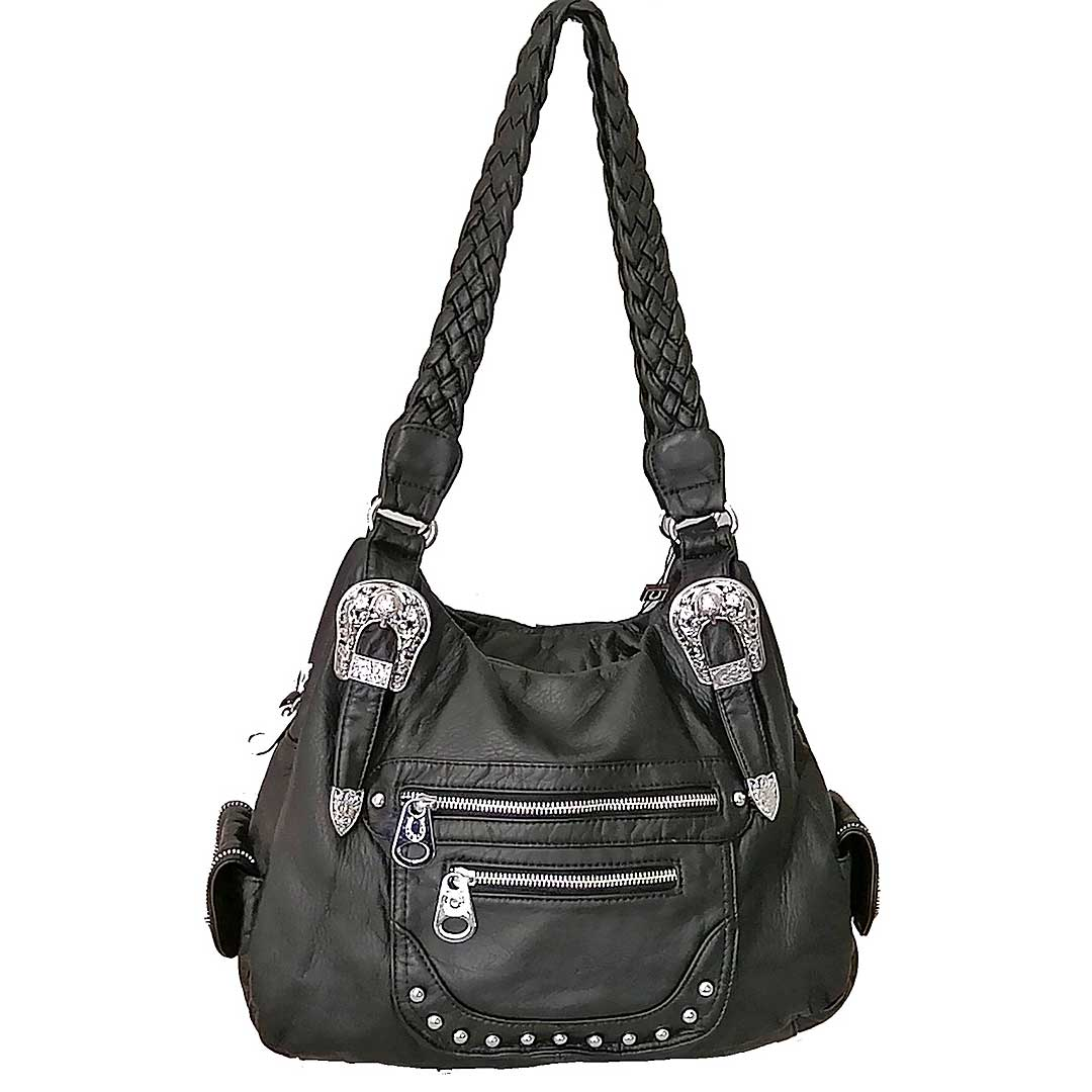 Unique West Double Handle Shoulder Bag