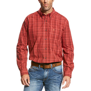 Ariat Tadlock Red Plaid Shirt