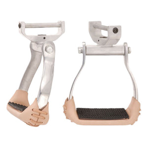 Tough-1 Aluminum Swivel and Lock Stirrups