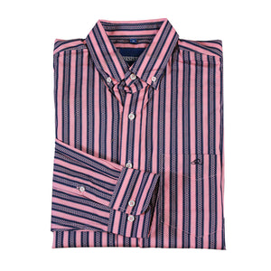 Resistol Ponoka Button Retro Stripe Shirt