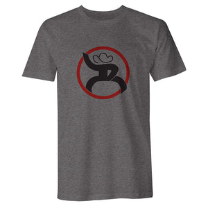 Hooey Roughy Strap Heather Grey Mens Tee