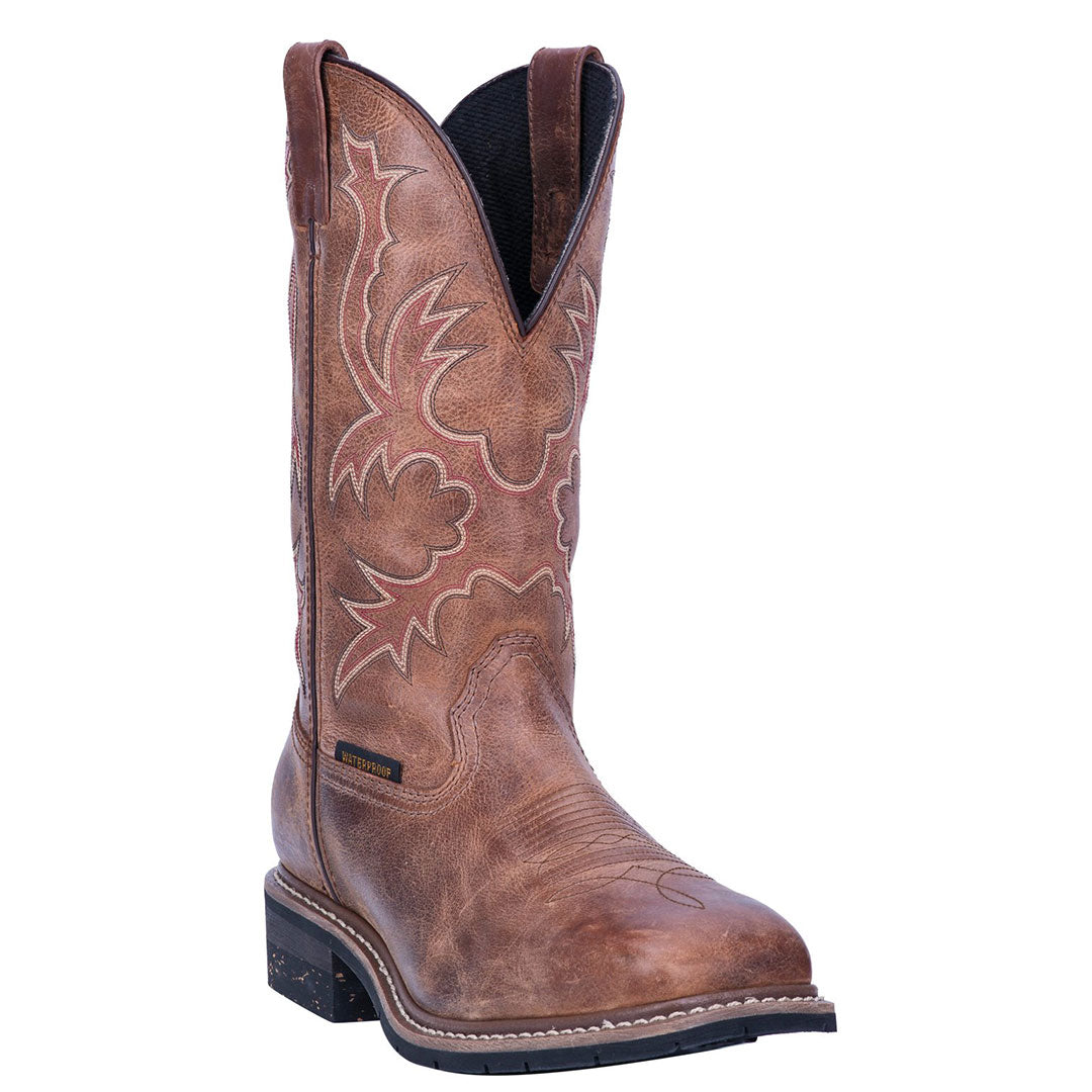 Dan Post Nogales Tan Waterproof Cowboy Boots
