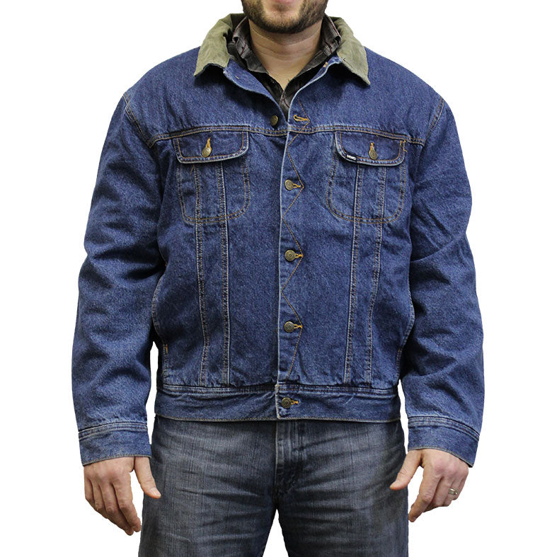 MWG Apparel Storm Rider Lined Men's Denim Jacket