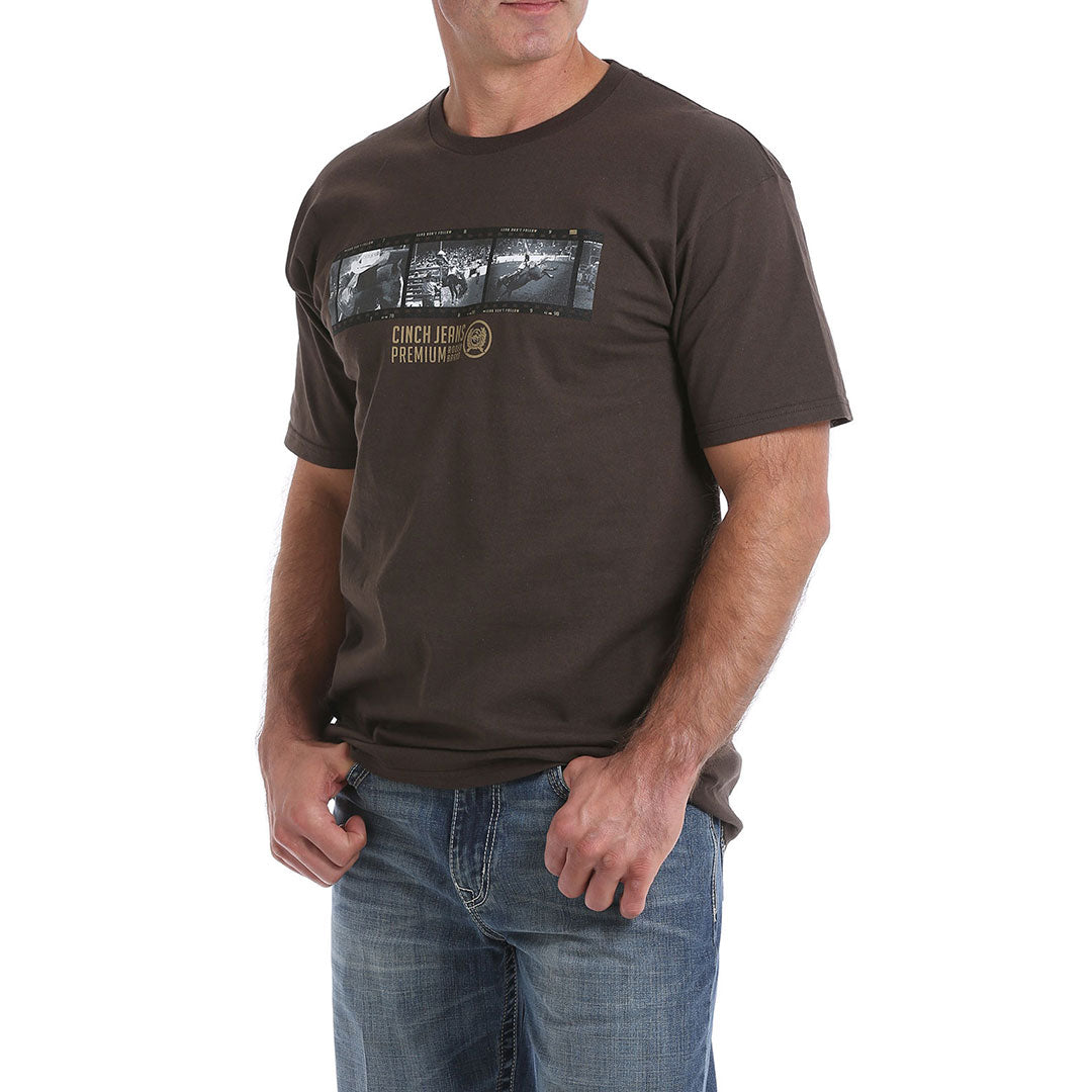 Cinch Graphic Chocolate Torte Mens Tee
