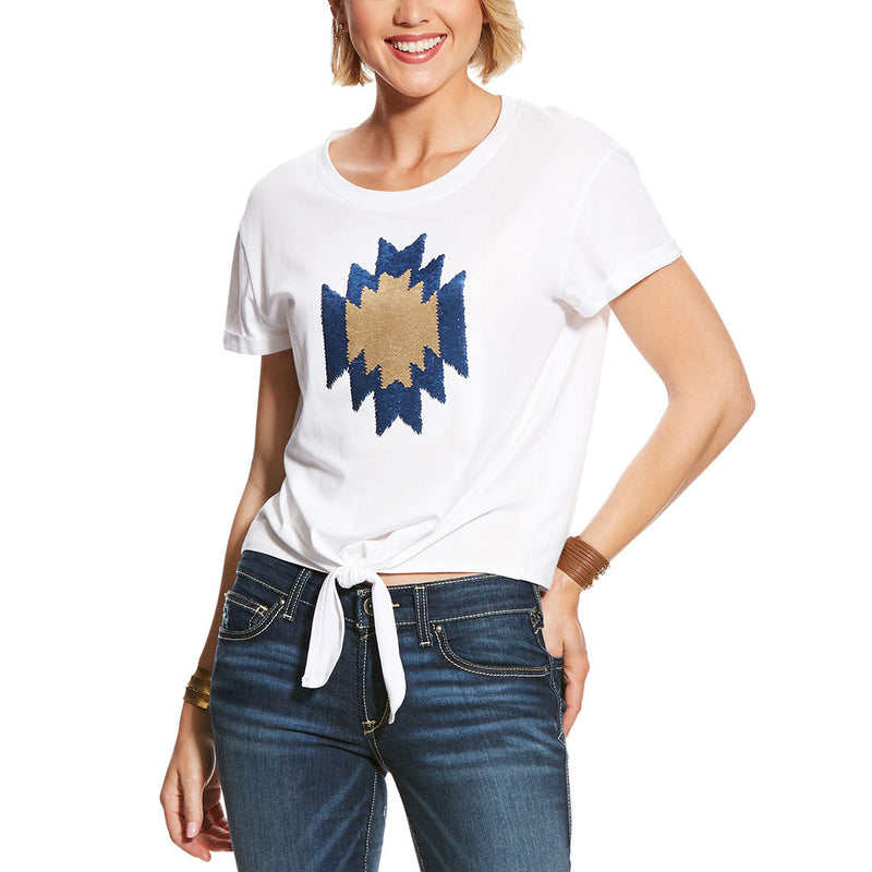 Ariat Aztec Sequin Tee