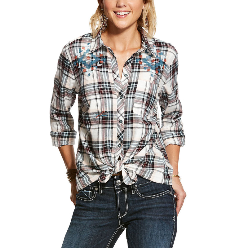 Ariat Women's Bonnie Springs Plaid Shirt