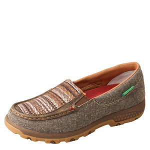 Twisted X CellStretch® Slip On Womens Driving Moc