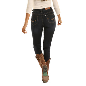 Rock & Roll Denim High Rise Skinny Womens Jean