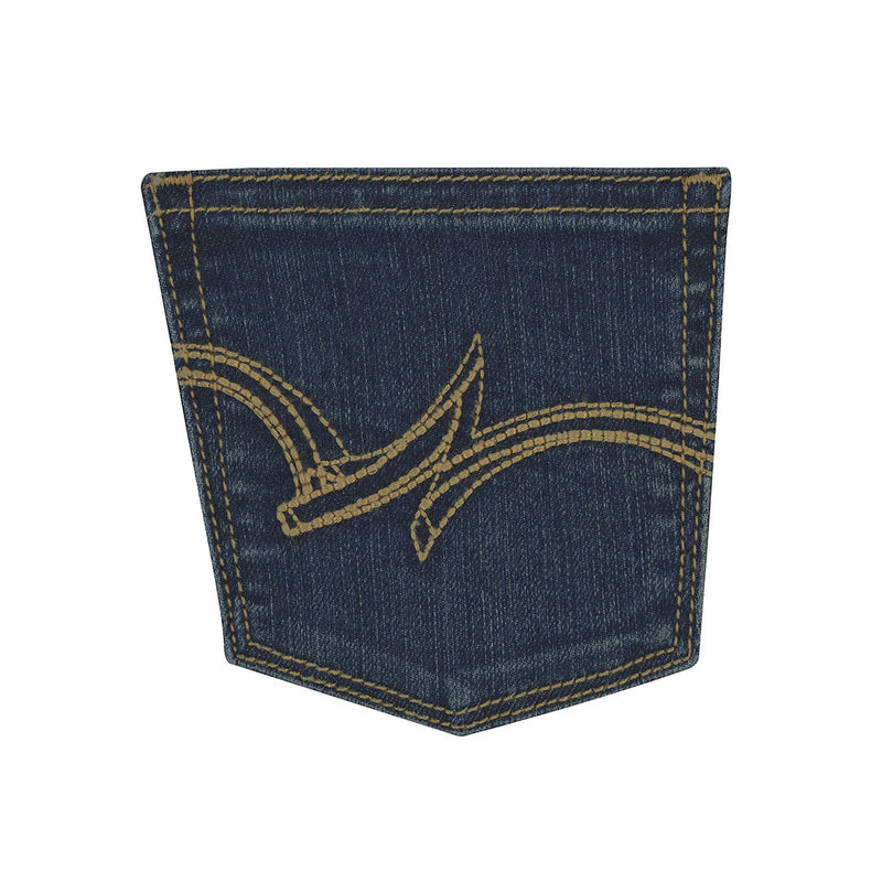 Wrangler Girl's Premium Patch Boot Cut Jeans