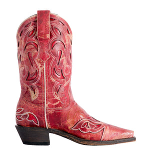 Laredo No More Drama Red Cowgirl Boots