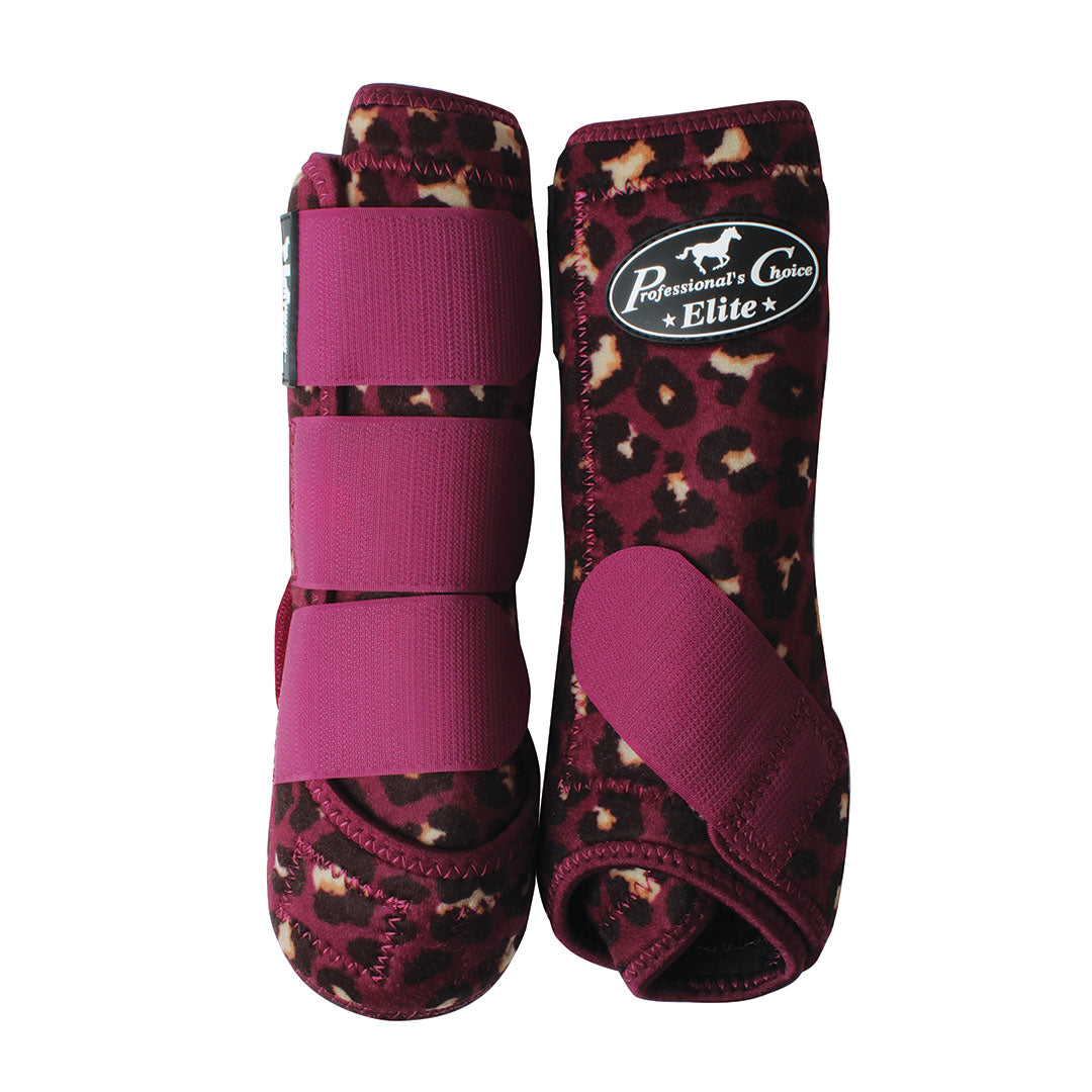 Professional's Choice VenTech  Cheetah Print Boots 4 Pack