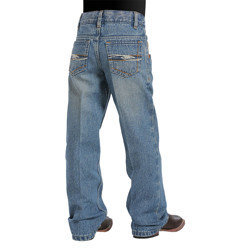 Cinch Boy's Tanner Slim Fit Jeans