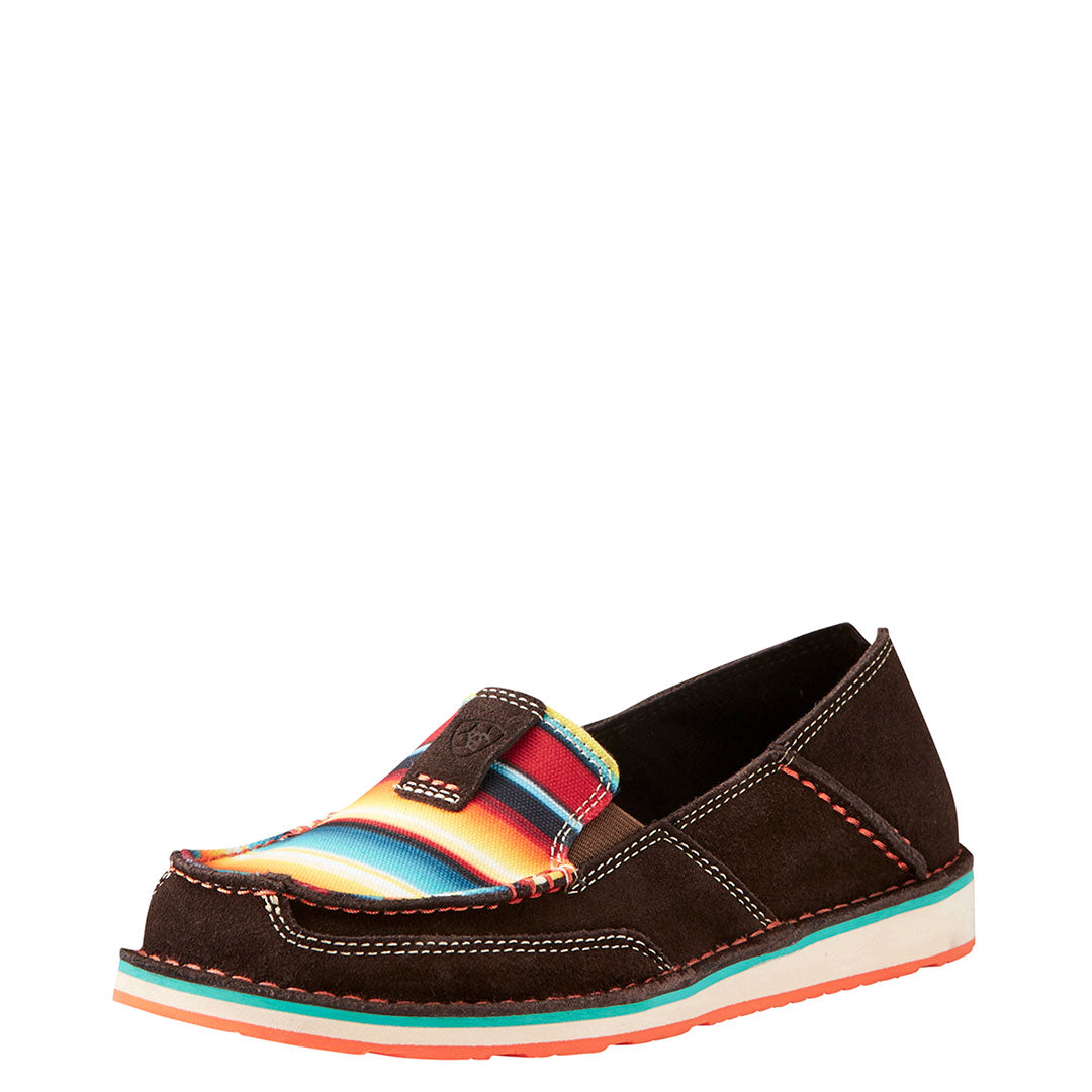 Ariat Chocolate Rainbow Cruiser Shoes