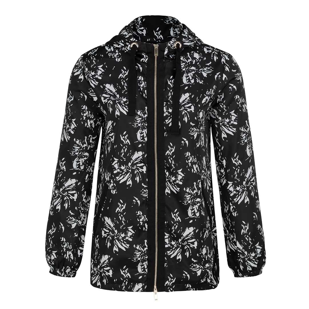 Tribal Women's Floral Print Memory Shell Jacket
