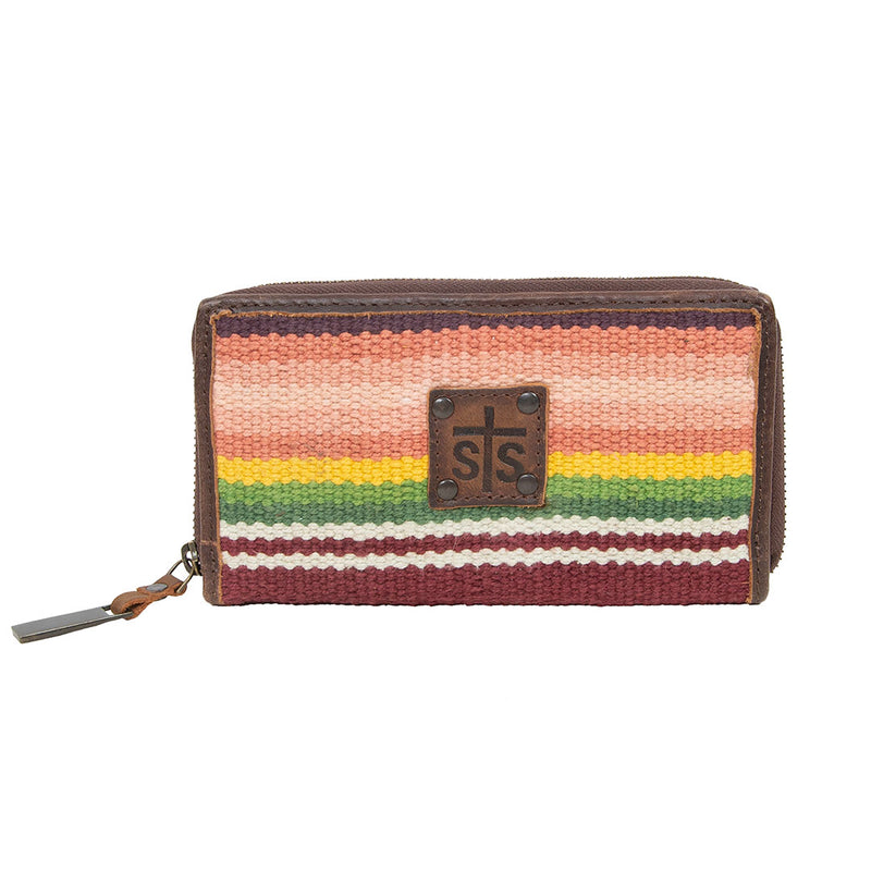STS Ranchwear Buffalo Girl Bi-fold Wallet