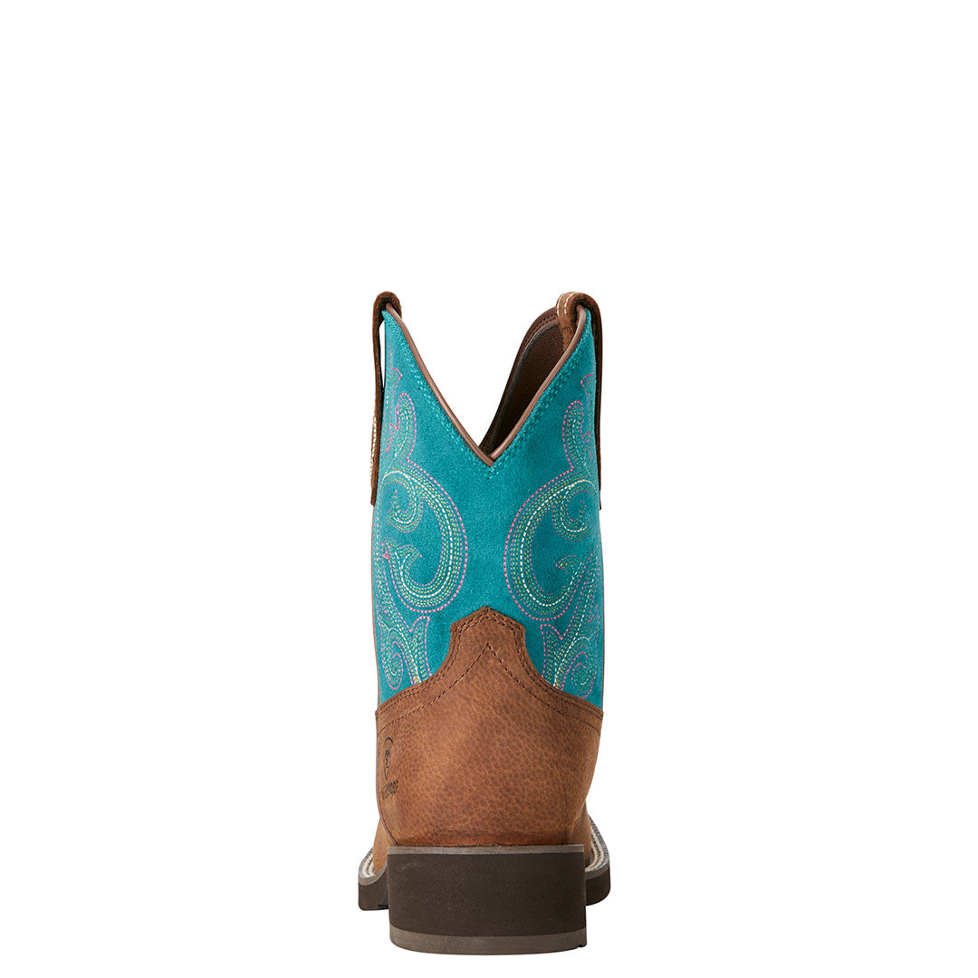 Ariat Shasta Waterproof Turquoise Cowgirl Boot